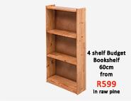 4 Shelf Budget