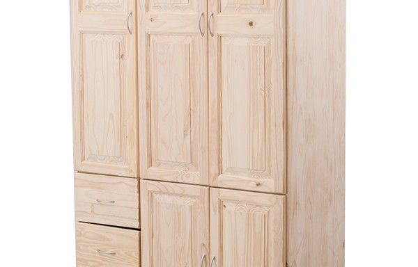 Virginia de Lux Wardrobe 5 door