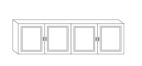 4 Door Wall unit