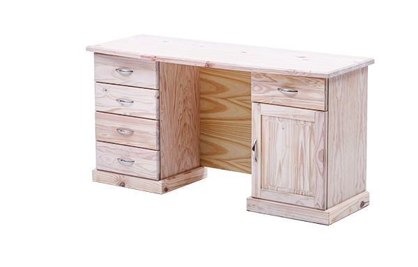 5 Drawer 1 Door Windsor Desk