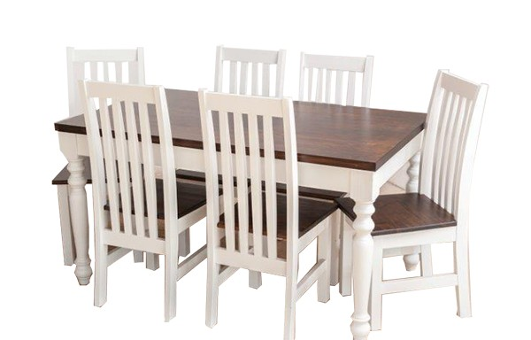 1800 x 900 Bastille Table & 6 chairs
