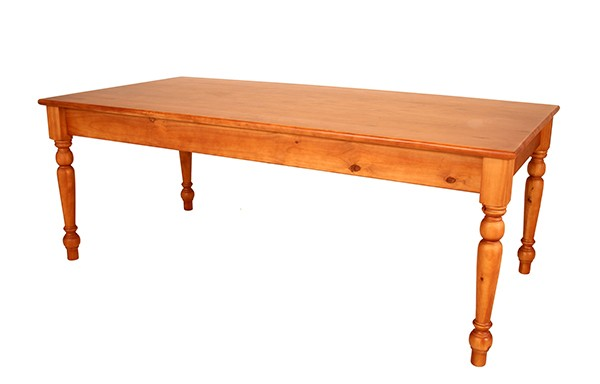 2100 x 1030 Colonial Leg Table