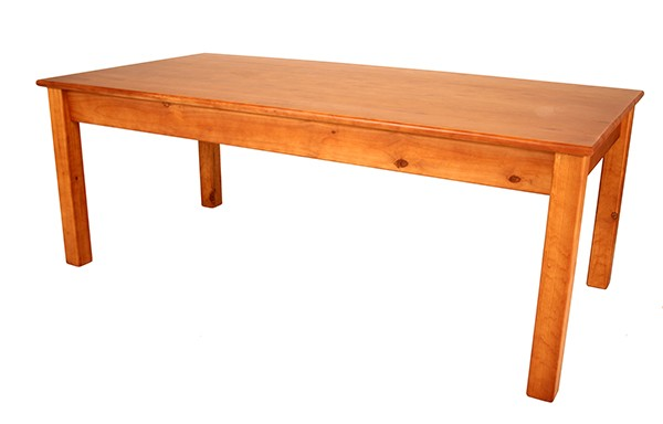 2100 x 1030 Square Leg Table