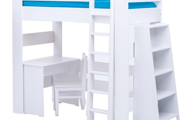 Chelsea 4 piece combo with tall bookshelf