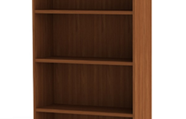 4 Tier Open Bookcase
