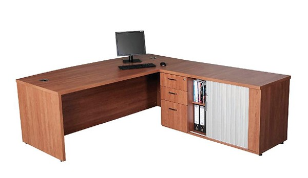Discovery 32mm Executive Desk + Pedenza