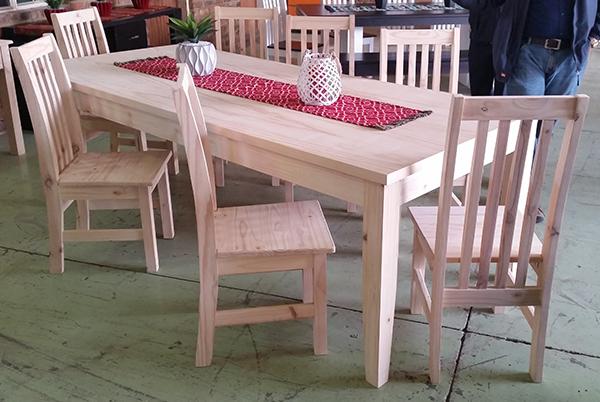 Square Leg Table 2400 x 1050