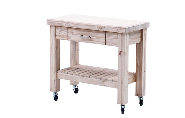 Workbench with 1 drawer – castors