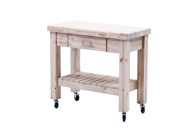 Workbench with 1 Drawer with castors
