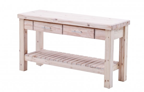 Workbench with 2 drawer 1.5m