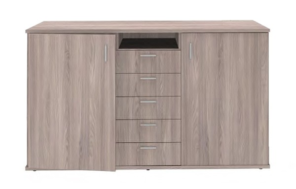 2 Door 5 Drawer Server unit