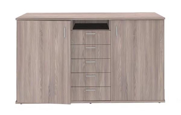 2 Door 5 Drawer Server unit
