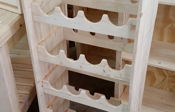 Pallet 24 Bottle Winerack