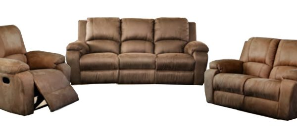 Jasmine 3 Piece 1 Recliner Action