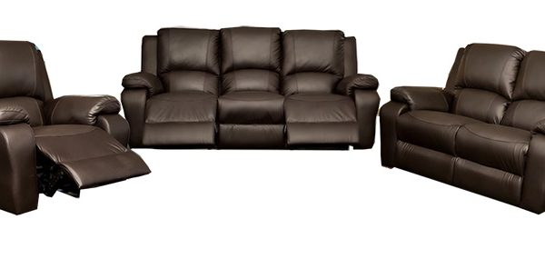 Jasmine 3 Piece 3 Recliner Action