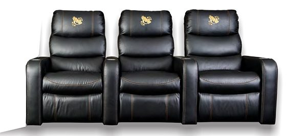 Jasmine Theatre Chair Recliner + 2 x 1 arm Theatre Recliners