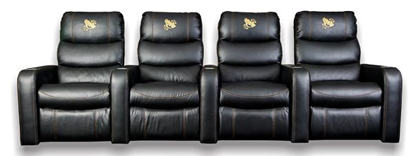 Jasmine Theatre Chair Recliner + 3 x 1 arm Theatre Recliners