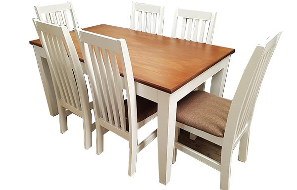 Bastille Table & Padded Chairs