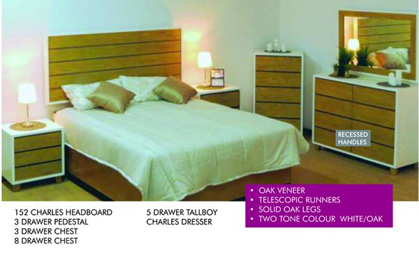 Charles bedroom furniture