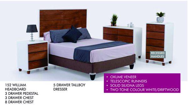 William bedroom set