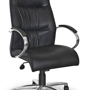 Salvador Chrome Range High Back Office Chair