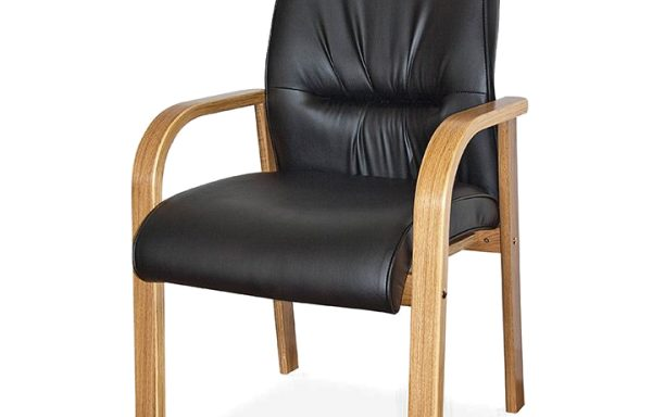 Salvador Wood Range Visitors 4 Legged Office Chair