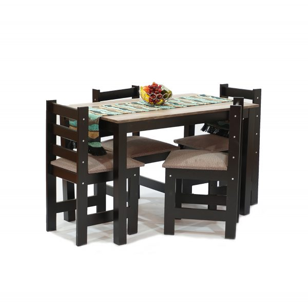 5 pce dinette set with melamine top 2