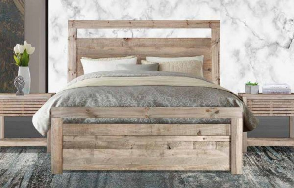 Carla Driftwood Bedroom set