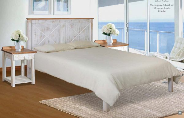 Nautical Full Wooden Headboard