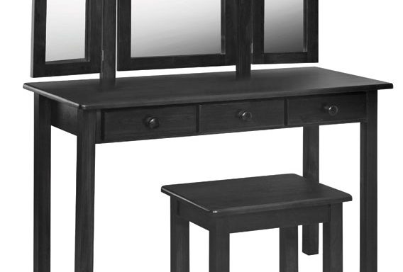 Charlene 3 Drawer Dressing Table