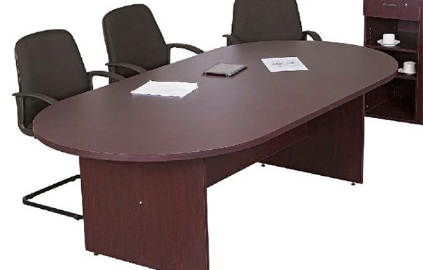 Discovery 32mm Oval Boardroom Table