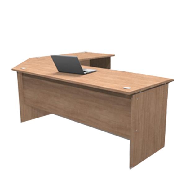 Platinum 22mm L-shape Desk