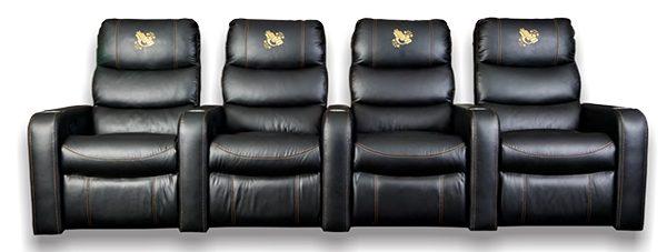 Jasmine Theatre Chair Recliner + 3 x 1 arm Theatre Recliners