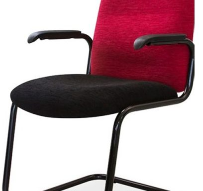 Kingston Range Visitors Side Office Chair