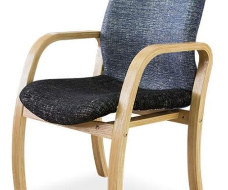 Morant Wood Range Visitors Side Chair