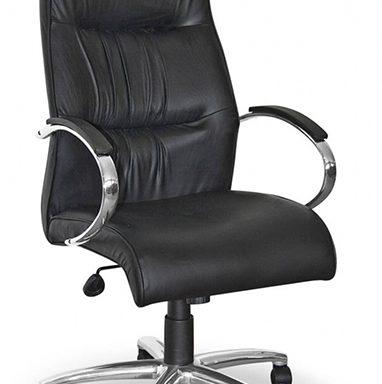 Salvador Chrome Range High Back Office Chair