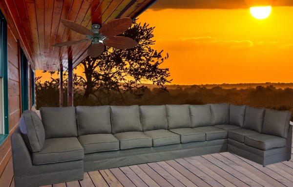 Entertainer-U-shape-with-background-sunset
