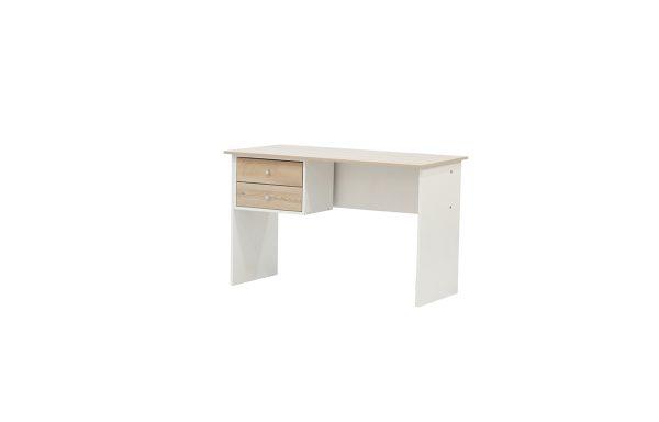 Lunar 2 Drawer Desk – Two Tone