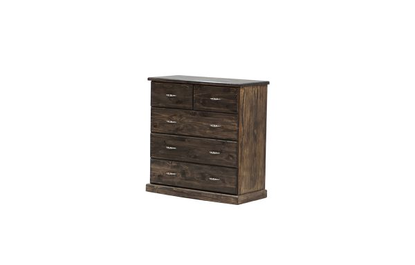 Paula 3+2 Chest of Drawer – Mocca Brown
