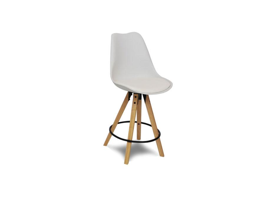 Dima Bar Chair - oak legs