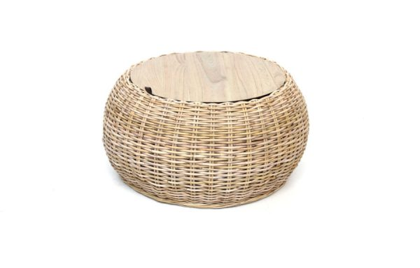 Montana Storage Basket Table