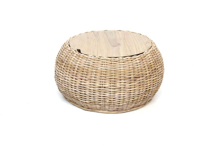 Montana Storage Basket Table